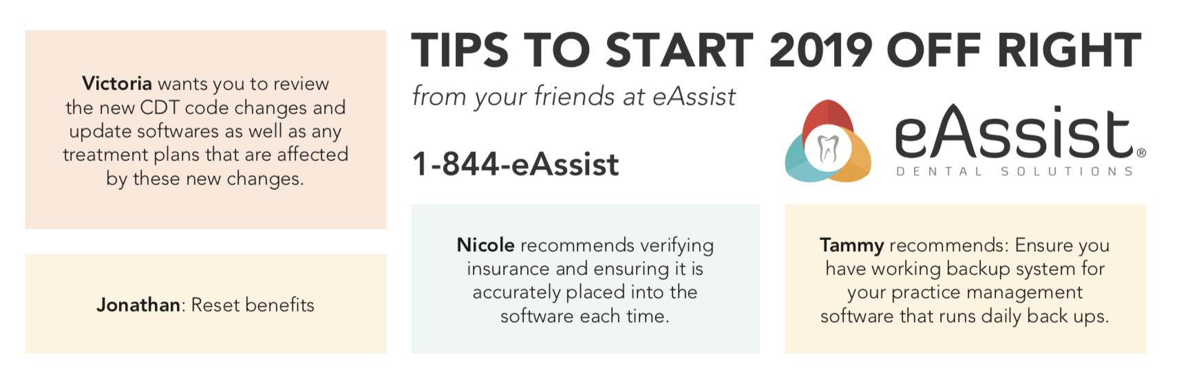 eAssist tips