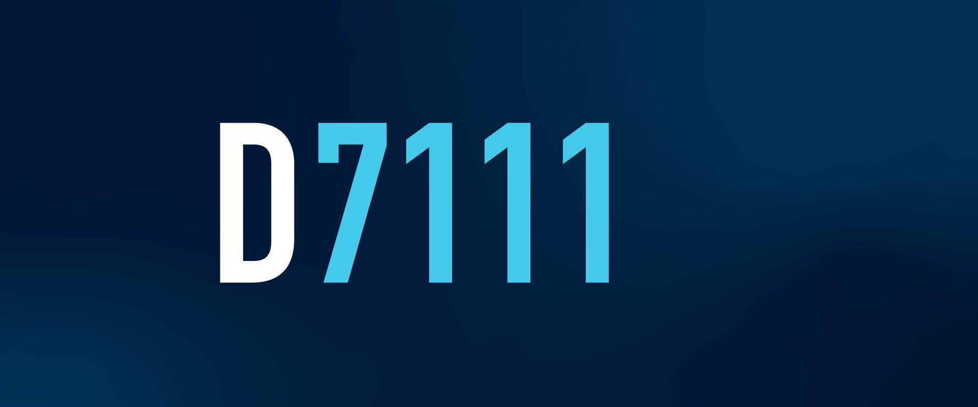 141 D7111