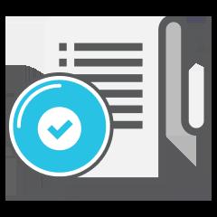check log icon