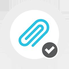 clip checked icon