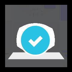remote check icon