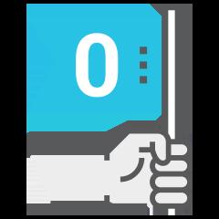 zero flag icon